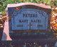 Mary Ann <I>Racki</I> Peters