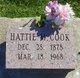 Hattie M <I>Stonerock</I> Cook