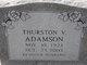 Profile photo:  Thurston Vermel Adamson