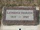 Profile photo:  Laurence Thorson