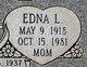 Edna Lee <I>Rader</I> Pace