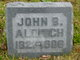 Profile photo:  John Brewer Aldrich