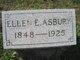 Ellen E Asbury