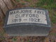 Marjorie Faye Clifford