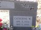 """Catherine K """"Kitty"""" <I>Walls</I> Hope"""