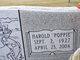 "Harold ""Poppie"" McBroome"