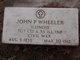 John Preston Wheeler