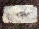 "Martha ""Mattie"" <I>Denton</I> Baird"