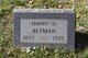 Harry H Altman