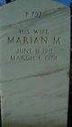 Marian M Dunham