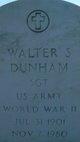 Walter S Dunham