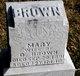 Profile photo:  Mary <I>Briner</I> Brown