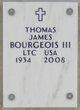 Thomas James Bourgeois, III