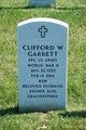 Profile photo:  Clifford W Garrett