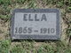 "Profile photo:  Elizabeth Luella ""Ella"" <I>Bennett</I> Johnson"