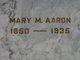 Mary Musgrove <I>Bobo</I> Aaron