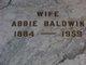 Abbie <I>Randolph</I> Baldwin