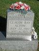 Profile photo:  Claude Ray Acton