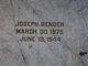 Joseph Bender
