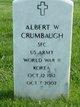 Profile photo:  Albert W Crumbaugh