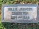 Willie Dude <I>Johnson</I> Covington
