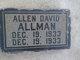 Profile photo:  Allen David Allman