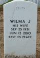 Profile photo:  Wilma J Miller