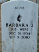 Profile photo:  Barbara J Owen