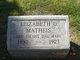 Profile photo:  Elizabeth U Matheis
