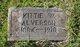 "Profile photo:  Catherine ""Kittie"" <I>Webster</I> Alverson"