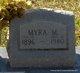 Profile photo:  Edna Myra <I>Meeks</I> Howard