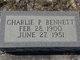 Profile photo:  Charlie Parker Bennett