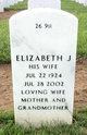 Elizabeth Jo <I>Williams</I> Lell