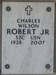 Profile photo:  Charles Wilson Robert, Jr.