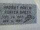 Profile photo:  Harriet Amelia <I>Porter</I> Bailey