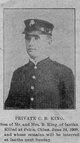 Pvt Charles B King