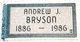 Profile photo:  Andrew Jackson Bryson