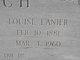 """Profile photo:  Alice Louisa """"Louise"""" <I>Lanier</I> Futch"""