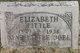 Elizabeth Mary <I>Breimayer</I> Little