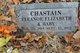 Eleanor Elizabeth <I>Lyle</I> Chastain
