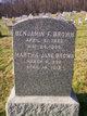 Profile photo:  Benjamin Franklin Brown