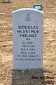 Profile photo:  Douglas McArthur Holmes