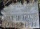 Profile photo:  John H. Adams