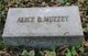 Profile photo:  Alice B. Muzzey
