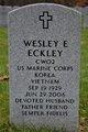 Wesley E. Eckley