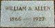 Profile photo:  William Alfred Allen