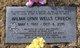 Wilma Lynn <I>Wells</I> Creech