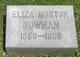Profile photo:  Eliza Quigley <I>Morton</I> Bowman