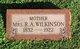 Mrs Rebecca Allen <I>Browning</I> Wilkinson