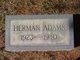 Profile photo:  Herman Adams